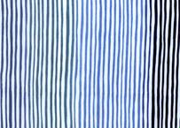 綿麻手拭 風つむぎ〈浮世縞〉藍空