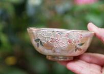 ご飯茶碗(小)桜・イッチン・ラスター