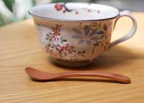 スープカップ 四季草花(梅・桜・鉄線・萩)