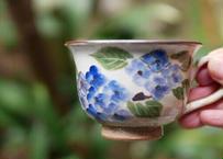 コーヒーカップ(紫陽花)