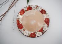 紅白梅 銘々皿