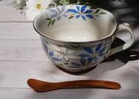 スープカップ(鉄線・絵が多め)