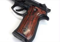 ウッドグリップ|U.S.M9/M9A1|スムースロゴ/ブラウン