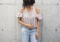CREPE OFF SHOULDER TOPS