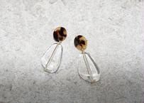 amber clear drop pierce