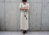 KNIT LONG ONEPIECE