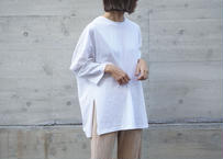 SIDE SLIT OVER LONG T