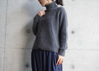 ANGORA HIGH NECK KNIT