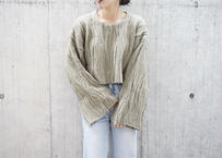 CABLE MIX SHORT KNIT