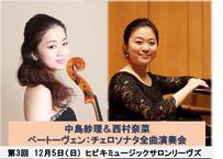 ベートーヴェン:チェロソナタ全曲演奏会 第3回
