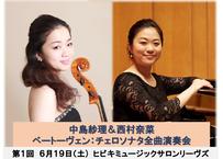ベートーヴェン:チェロソナタ全曲演奏会 第1回