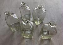 工場型角扁瓶