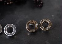 真鍮 ハーキマーダイヤモンド タルト pierce