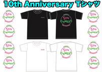 10th Anniversary ネオンカラーTシャツ