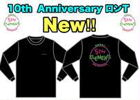 5th Elements 10th AnniversaryオリジナルロンT