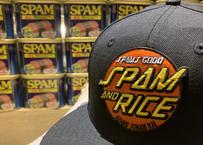 Spams goodオリジナルキャップ -SPAM and RICE-