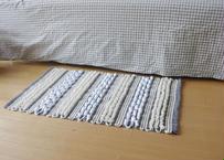 ループ織りのマット Lサイズ