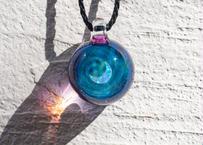 宇宙 三ヶ月ミントオパール アメジスト(ボロシリケイトガラス) ON-11221