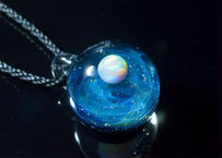 宇宙 ホワイトオパール(ボロシリケイトガラス) ON-11217