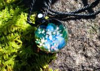 満月 レインボーオパール ホワイトオパール(ボロシリケイトガラス) ON-11221