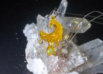 雫 レインボーオパール CFL(黄・オレンジ) (ボロシリケイトガラス) SN-12107