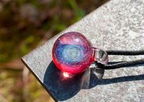 宇宙 ルビー色 (ボロシリケイトガラス) MN-11105