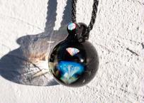 満月 ダイヤモンド型レインボーオパール ホワイトオパール(ボロシリケイトガラス) ON-11220