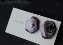 コランダム/鉱物ピアスC