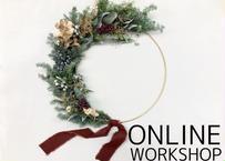 【オンライン】Workshop:アイアンフープリース【 2020年11月1日(日)】
