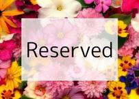 【ご予約済】季節の花束