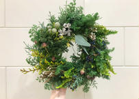 [受注生産] Christmas wreath(M)