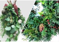【西麻布】Workshop:コニファーのクリスマスリース&スワッグ【 2021年12月4日(土)】