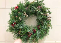 [受注生産] Christmas wreath(L)