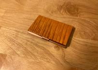 【訳アリ品】STRINGS CARD CASE(縦木目)