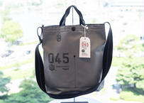 横濱帆布鞄 | Musette Carry Bag GRY