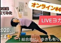 *ダウンロード販売【オンラインLIVEヨガ】'20.6.14:下半身をしっかり使って気が降りやすい身体に✨