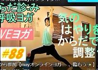 💚後から参加〈からだ診:み呼吸ヨガ・オンライン〉'21.4.3【春はやはり気が逸り=はやりやすい😲】グラウンディング・吐く息・裏を使う…常に自分を整え、臨もう✨