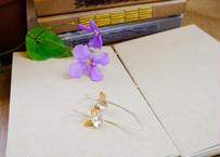 シルバーピアス (タイの花)  2525_0302001