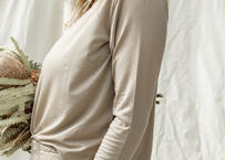 Eucalyptus Daya Long Sleeve Top Oak  (トップス)