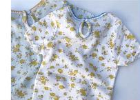 Pamiers T-shirts / カットソー / メロー / アイレット生地 / 花柄 / アイボリー / ミント / キッズ / 女の子