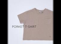 PORKET T-SHIRT / Tシャツ / 無地 / 胸ポケット / キッズ / 男の子 / 女の子
