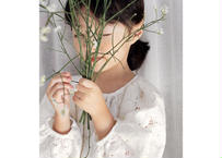 racy floral onepiece / レースワンピース / 結婚式 / セレモニードレス / ホワイト