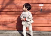 LUFF tee / カットソー / ワッフル生地 / シンプル / ブラウン / アイボリー