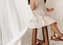 girl friend op / ワンピース  / キャミワンピ / ボーダー / ストライプ / ベージュ