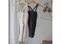 suspender pants / サスペンダーパンツ / ワッフル / パンツ / ベージュ / チャコール / ベビー / 男の子 / 女の子