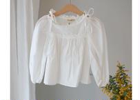 Diamant blouse / ブラウス / パフスリーブ / アイボリー / キッズ / 女の子