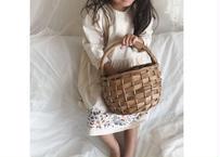 BN antique dress / onepiece / ワンピース / 花柄 /  ナチュラル / キッズ / 秋