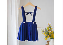 pleats skirt / プリーツスカート / ネイビー / キッズ / 女の子 / 入学式 /  入園式