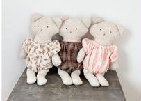 BN baby pepper doll set / クマ / ぬいぐるみ / 3点セット / お祝い / おままごと / ベビー / 男の子 / 女の子