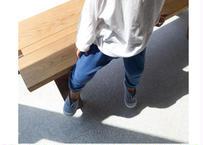 Saturday pants / パンツ / コットンパンツ / スウェットパンツ / ブルー / ホワイト / キッズ / 男の子 / 女の子 / 通園用